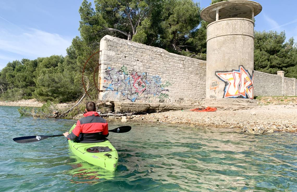 Pula Military Kayak Tour