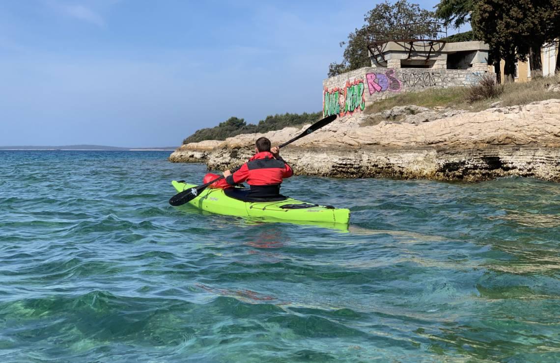 Pula Military Kayak Tour